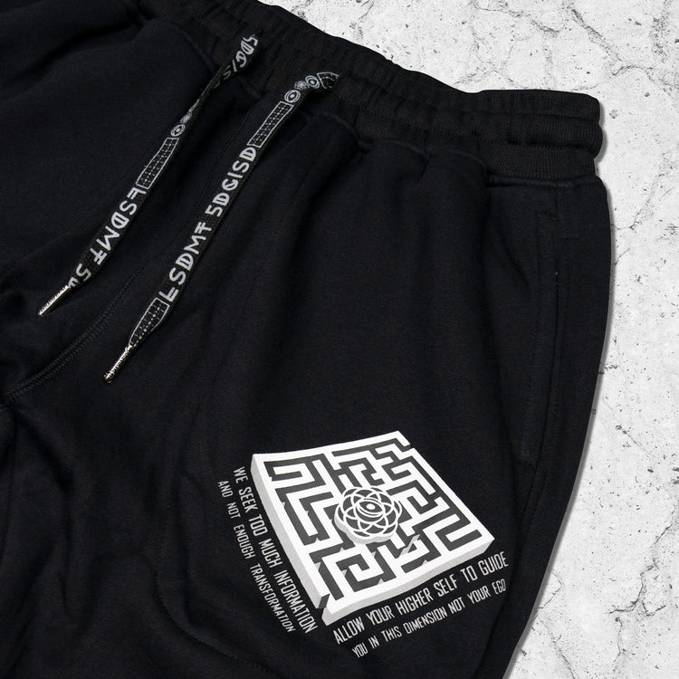DISSOLVE THE EGO • Hidden Pocket Unisex Joggers Apparel