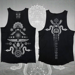 EMANATIONS • Glenn Thompson • Flow-fit Tank top
