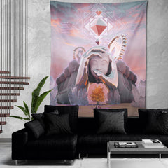 HERO'S JOURNEY • STOIC DIGITAL • Wall Tapestry Tapestry