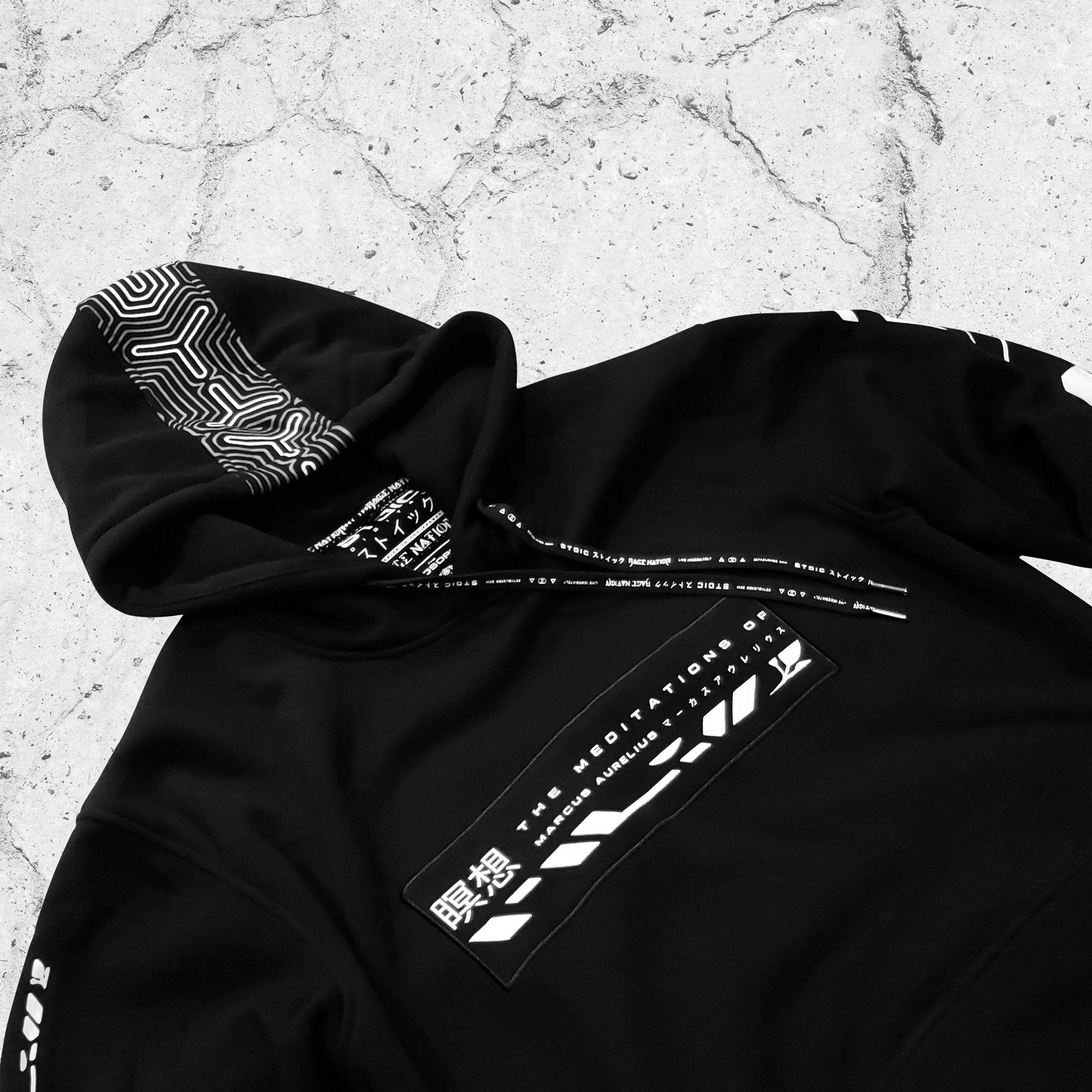 PHILOSOPHER • STOIC DIGITAL • Hidden Pocket Hoodie