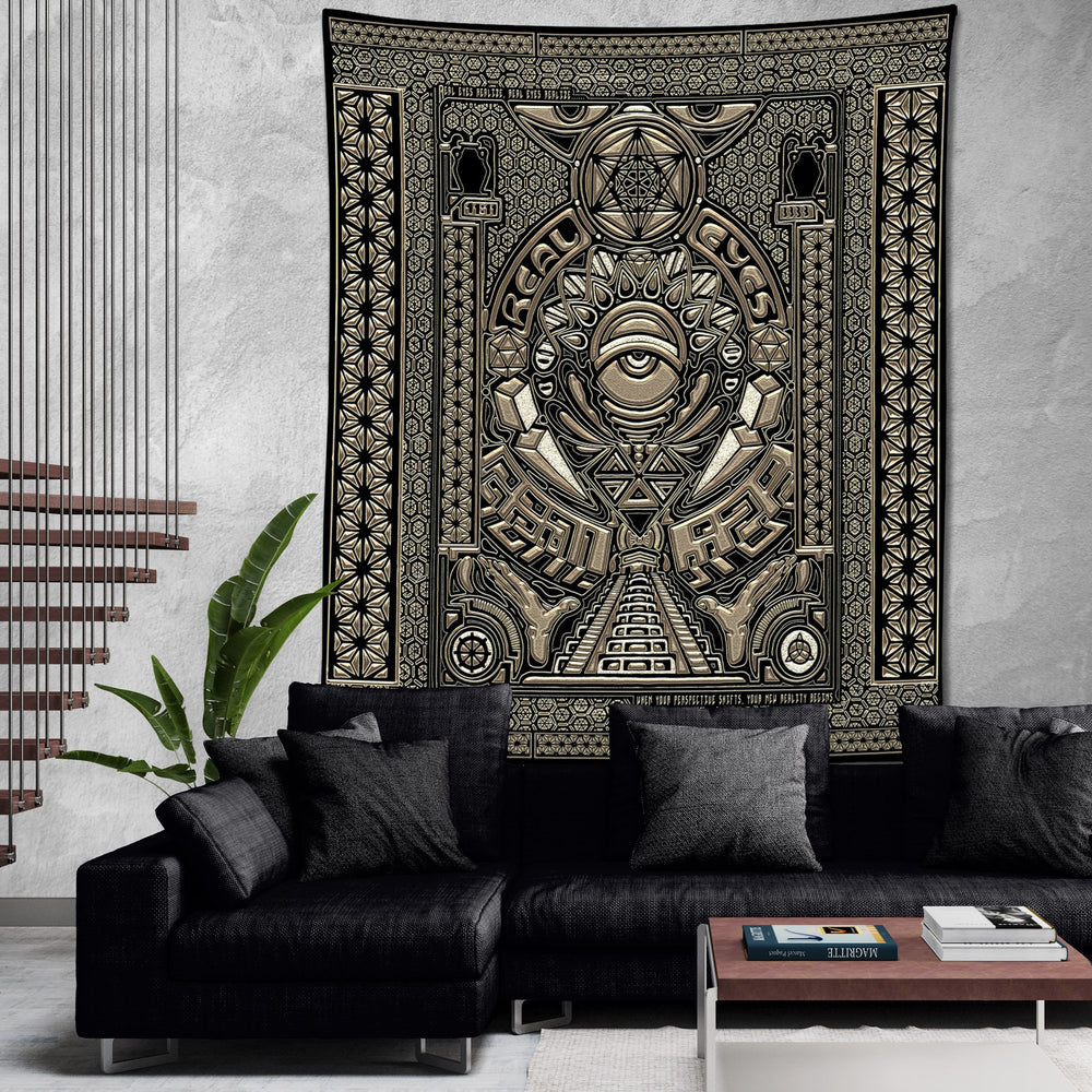 REAL EYES V1 • GROKKO • Wall Tapestry Tapestry