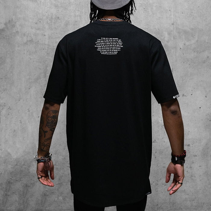 SACRED SCARAB V1 • Blank Droptail T-Shirt Apparel