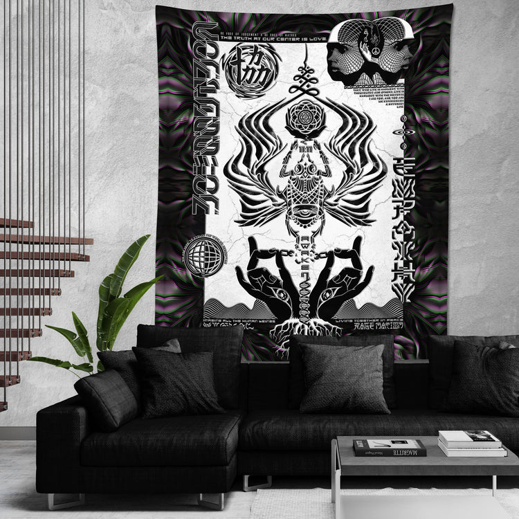 VISUAL METAPHORS • Limited Edition Wall Tapestry Tapestry