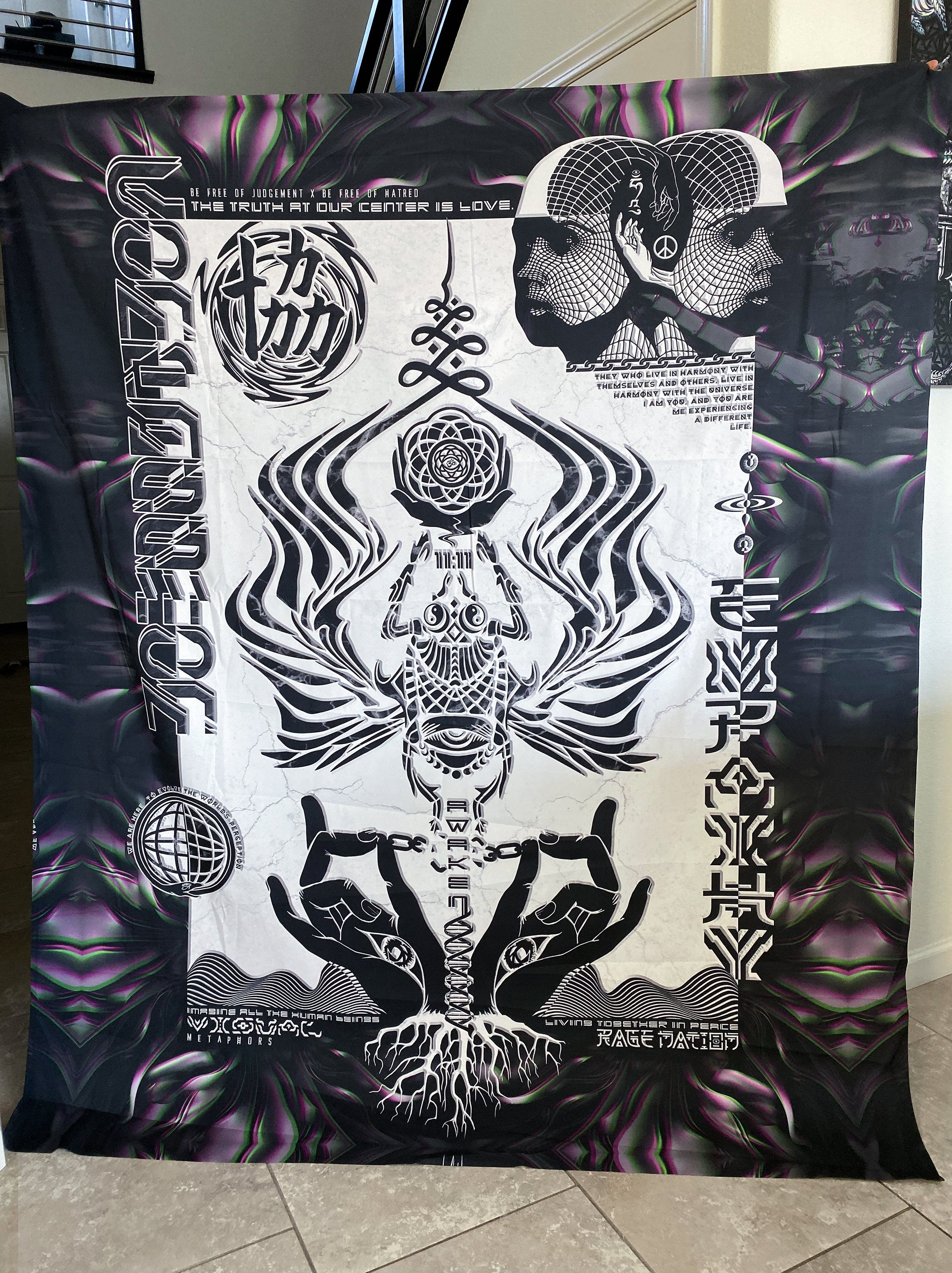 Visual Metaphors Limited Edition Wall Tapestry