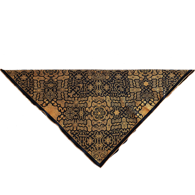 • SHIPIBO CODES • Gold Crystal-Infused Bandana Bandanas