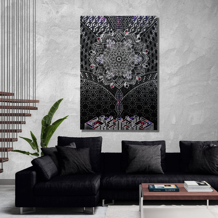 ONENESS GALAXY • Limited Edition • Glenn Thomson • Canvas Wrap Canvas