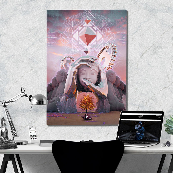HERO'S JOURNEY • STOIC DIGITAL • Limited Edition Canvas Wrap Canvas