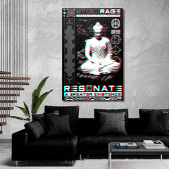 MEDITATIONS • STOIC DIGITAL • Limited Edition • Vertical Canvas Wrap Canvas