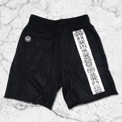 DISSOLVE THE EGO • Reversible Activewear Graphic Shorts Apparel