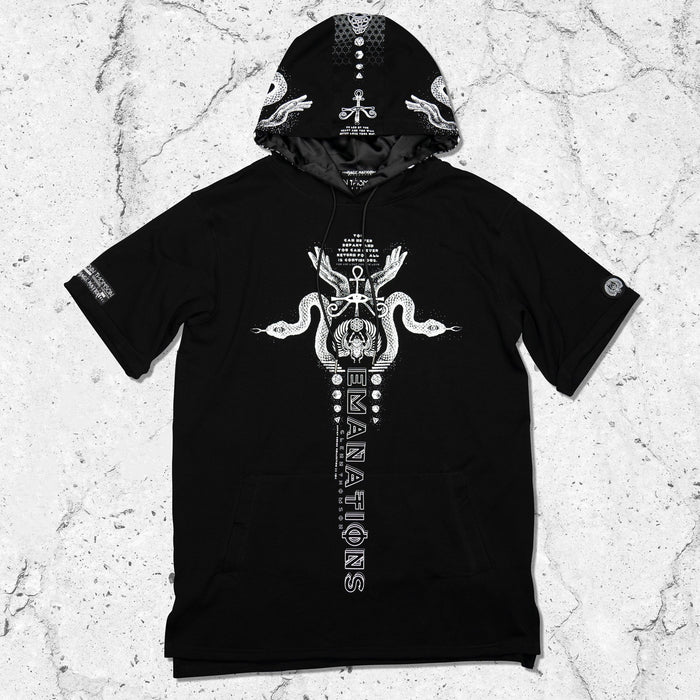 EMANATIONS • Short Sleeve Hoodie Apparel