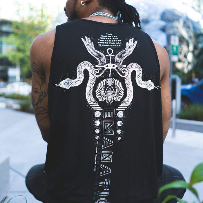 EMANATIONS • Glenn Thompson • Flow-fit Tank top Apparel