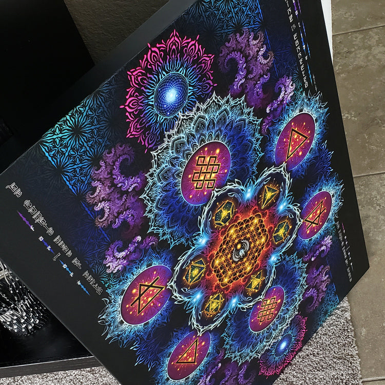 ETERNAL ALCHEMY V2 • YANTRART • Limited Edition • Canvas Wrap
