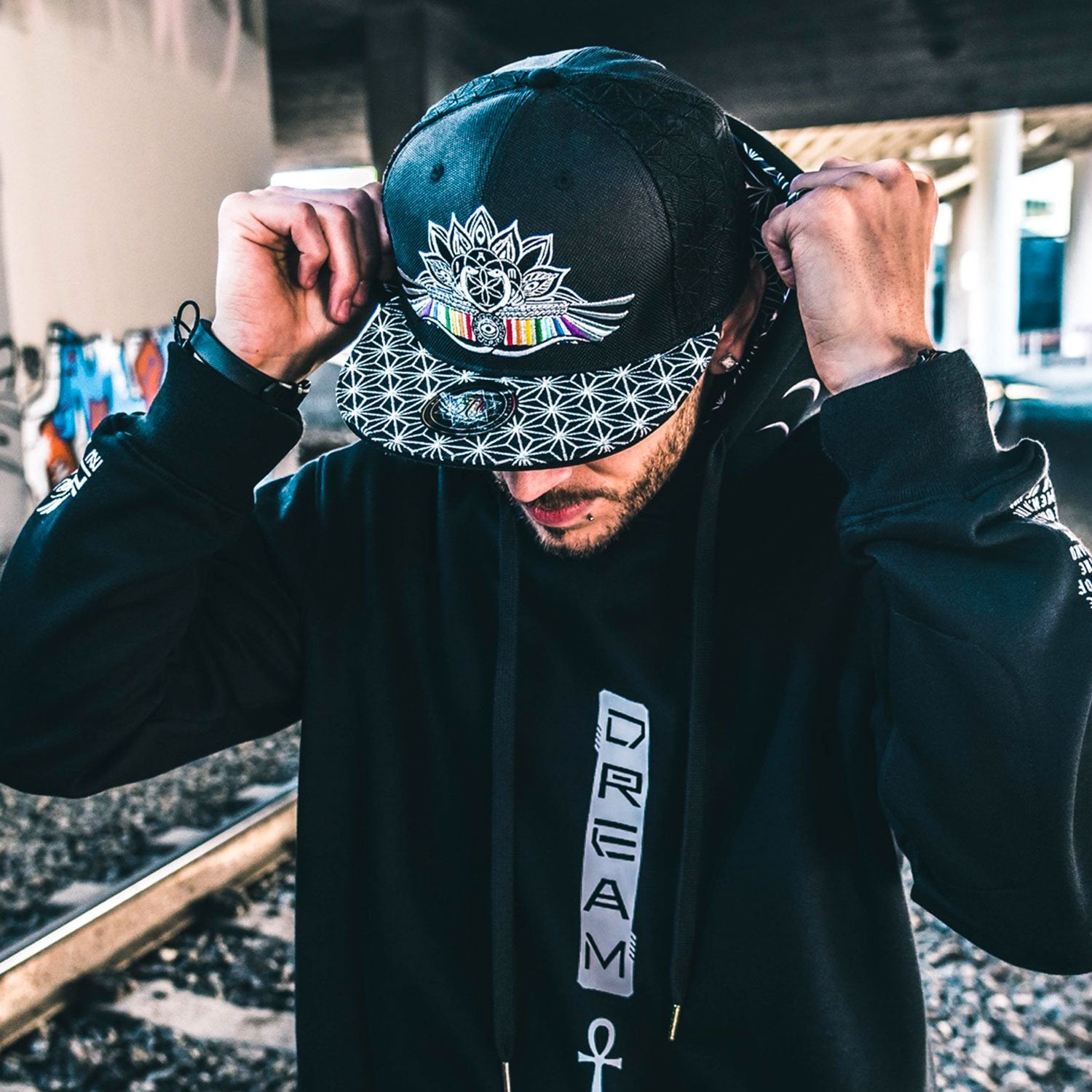RESTOCKED \\ I AM V2 // CROWN // Hemp Snapback w/ Interior Pocket
