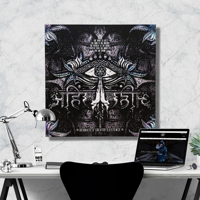LIVE AHIMSA V3 • Canvas Wrap Canvas