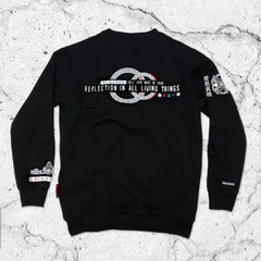 LIVE FREE LOVE ALL • Crewneck Sweatshirt