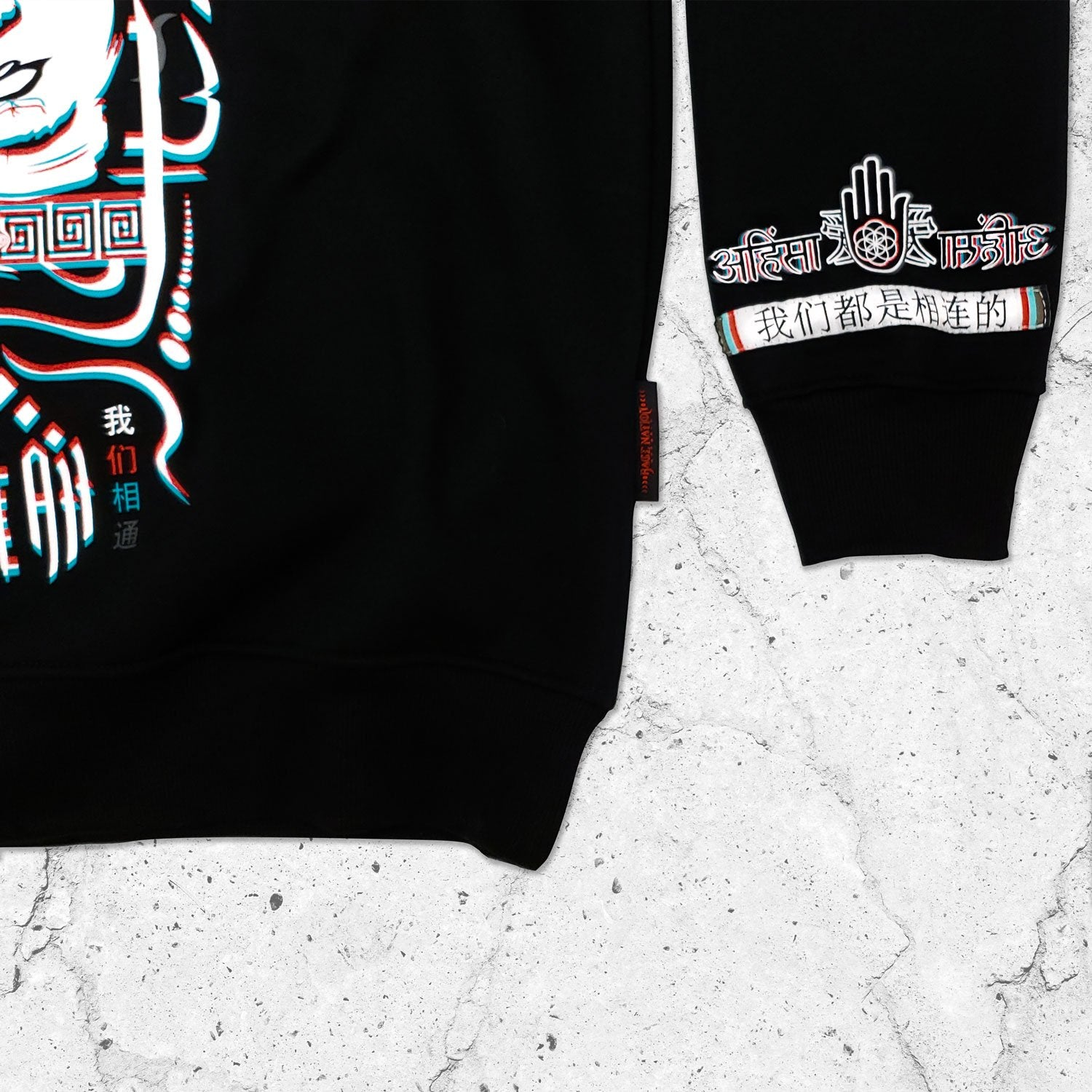 NEW RELEASE \\ Live Free x Love All // Crewneck Sweatshirt