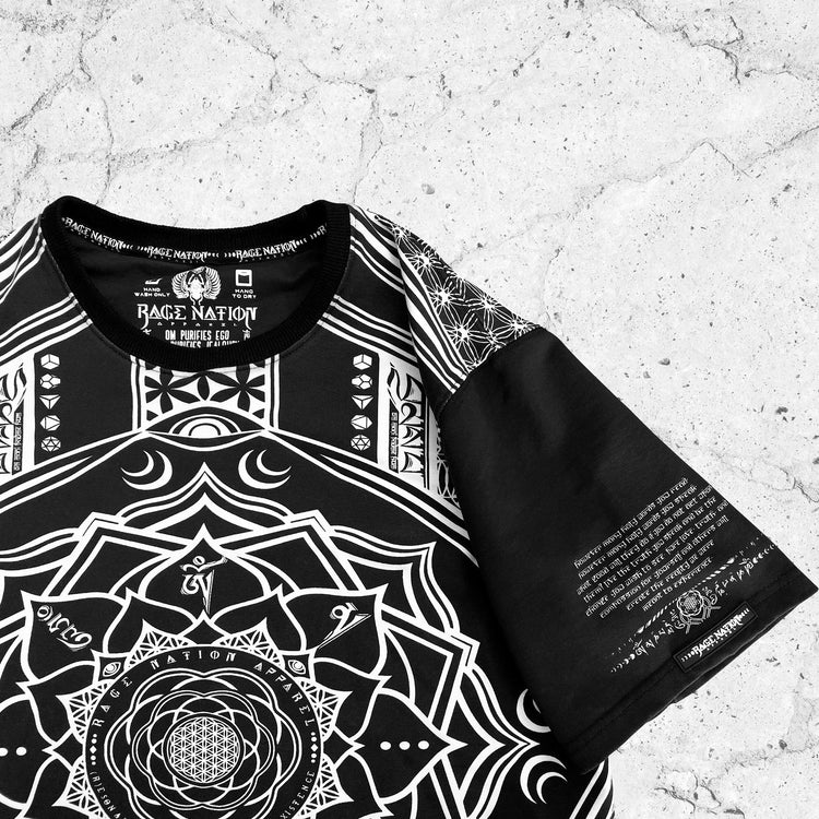 MANTRA V1 • All-Over Print Droptail T-Shirt Apparel