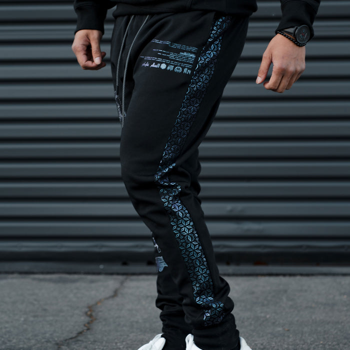 MIND OF ZEN V1 • Iridescent Ink Joggers Joggers