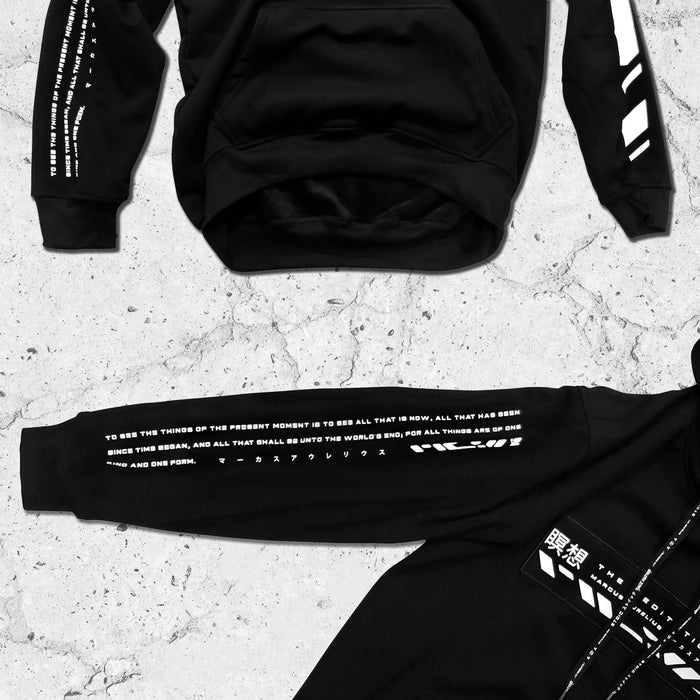 PHILOSOPHER • STOIC DIGITAL • Hidden Pocket Hoodie Apparel