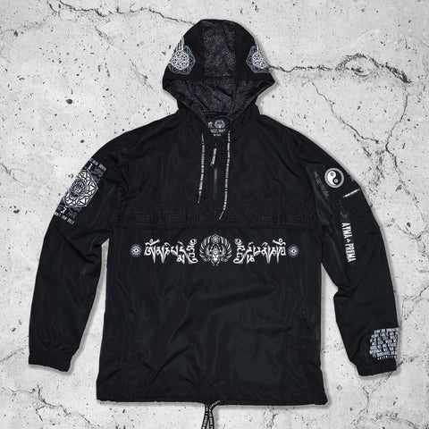 MANTRA V1 // All-Season Hooded Pullover Windbreaker