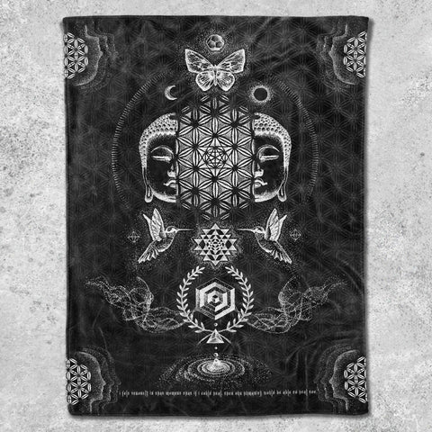 RESACRALIZATION V2 // Glenn Thomson Fleece Blankets
