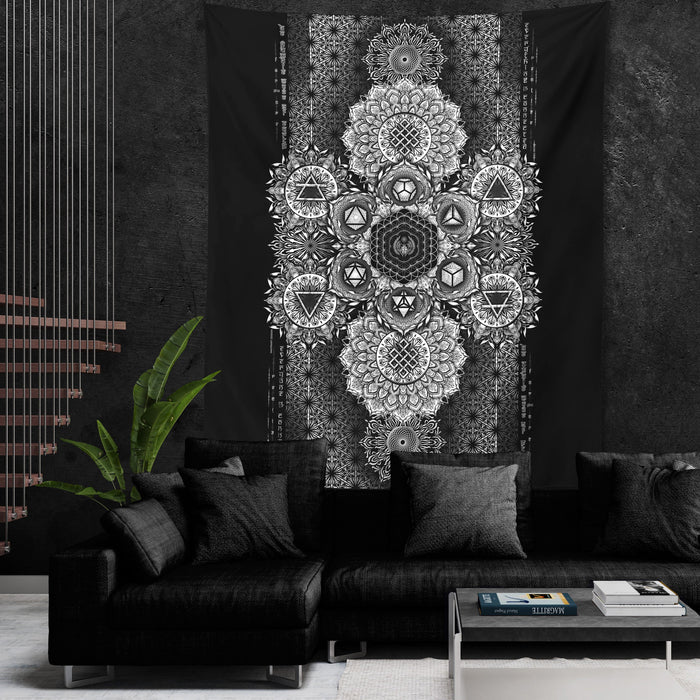 ETERNAL ALCHEMY V1 • YANTRART Wall Tapestry Tapestry