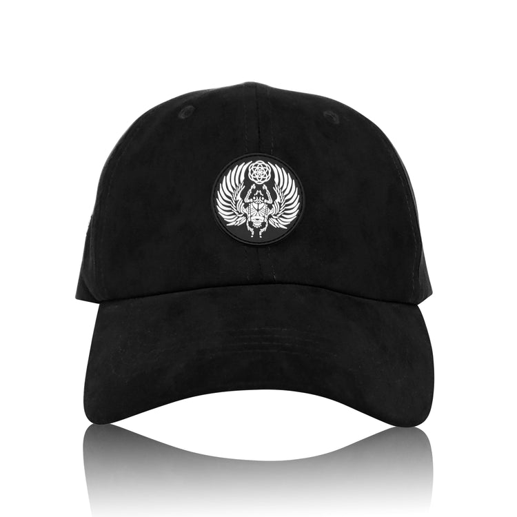 SACRED SCARAB V1 • Secret Pocket Dad Hat Hats