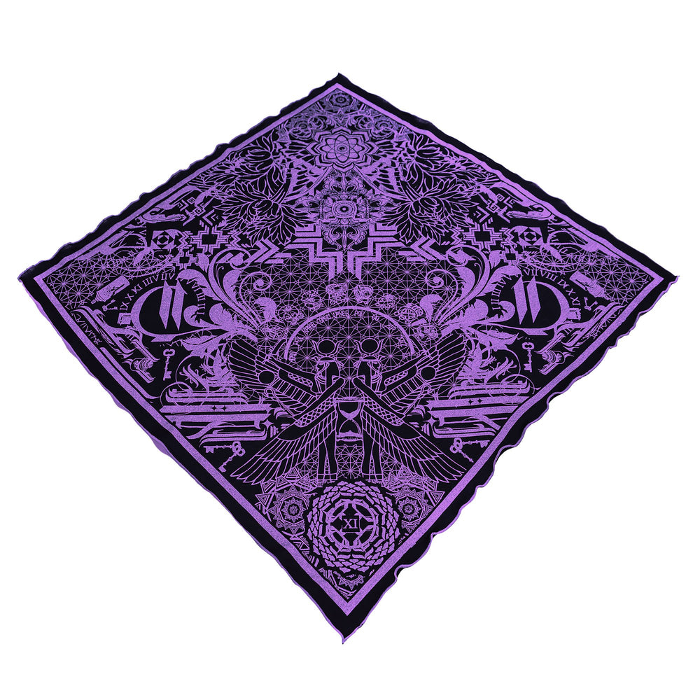 THE TIME BETWEEN • Lavender Crystal-Infused Bandana Bandanas