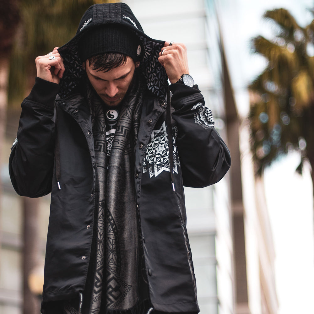 EVOLUMINATE • All-Season Hooded Windbreaker Jacket Apparel