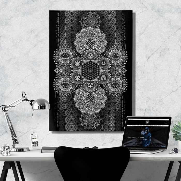 ETERNAL ALCHEMY • YANTRART Canvas Wrap Canvas