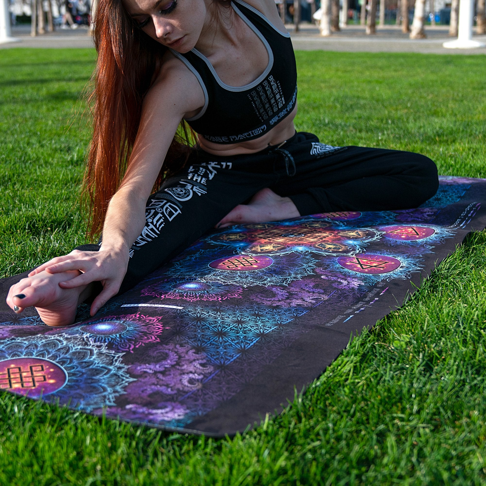 ETERNAL ALCHEMY V2 • Yoga Mat + FREE Yoga bag Yoga Mat