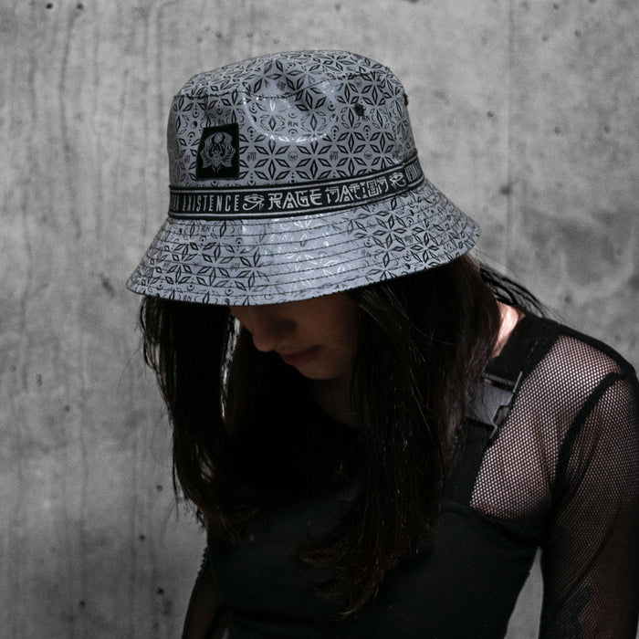 MIND OF ZEN V2 • REFLECTIVE • Reversible Bucket Hat Bucket Hat