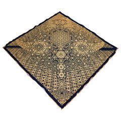 CRYSTAL HORIZONS // Black/Gold Crystal Infused Ink Bandana