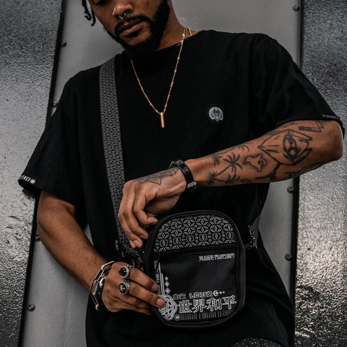 MIND OF ZEN • Reflective Shoulder Bag Shoulder Bag