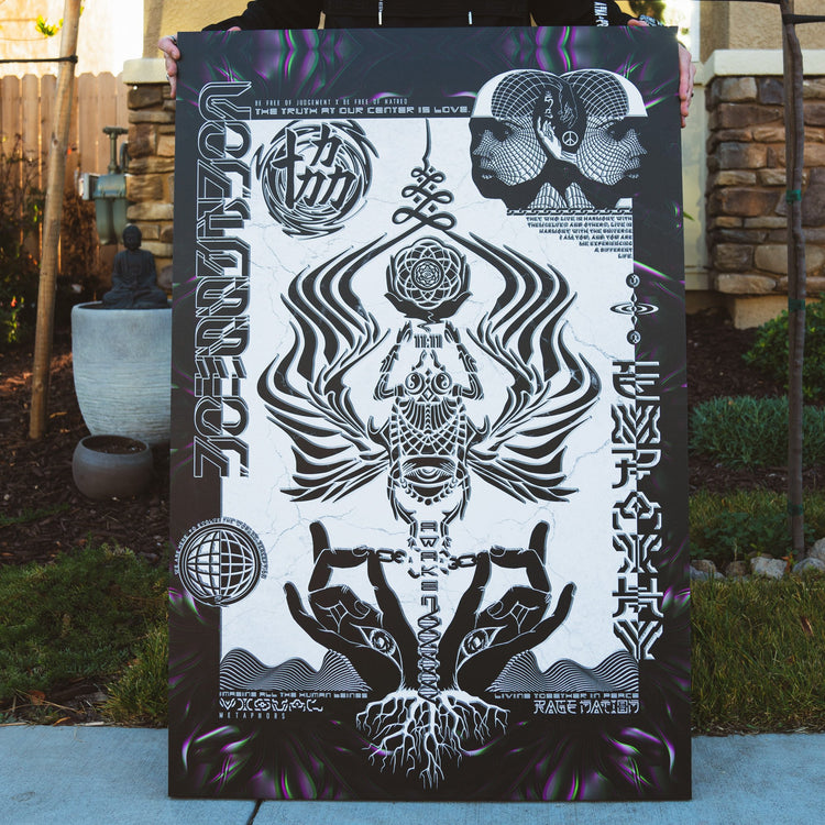 VISUAL METAPHORS • Limited Edition Canvas Wrap Canvas