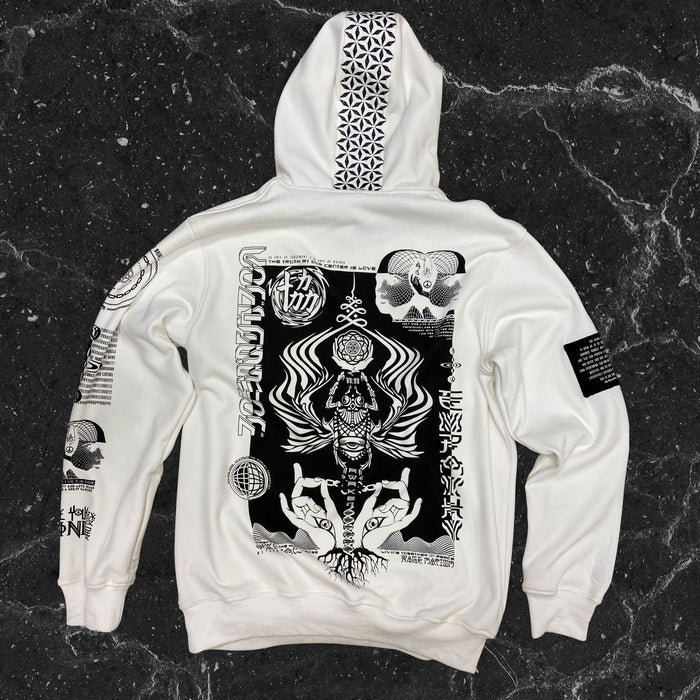 COMING SOON • VISUAL METAPHORS V3 • IVORY • Hidden Pocket Hoodie Hoodie