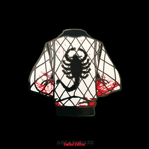 Drive Jacket Bloody Enamel Pin by Arcadedaze