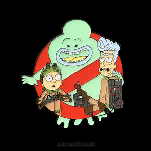 Rick and Morty Enamel Pin Arcadedaze