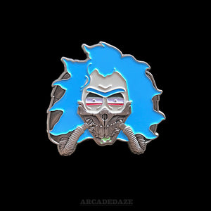 Rick and Morty Immortan Rick 3D Enamel Lapel Pin