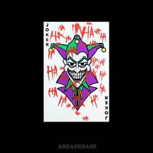"Arcadedaze ""The Joker"" Card Enamel Pin"