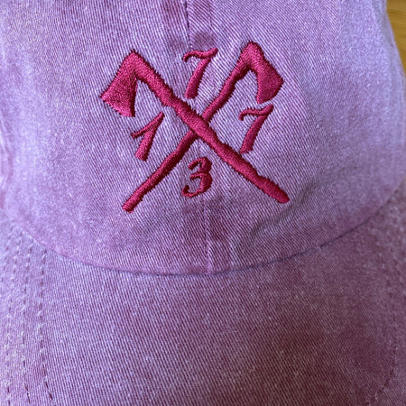 "Embroidered ""1773"" Boston Tea Party cap - For hardcore history folks - Maroon"