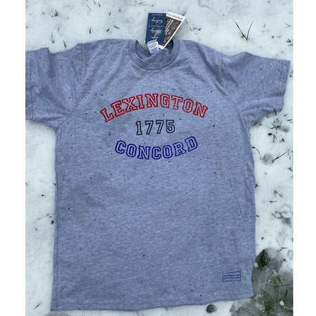 1775 - Lexington and Concord Shirt - with 100% cotton made in the USA as an option from The History List Store