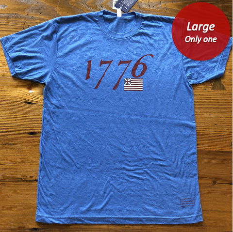 """We hold these truths - July 4, 1776"" T-shirt - Blue - Only one from The History List Store"