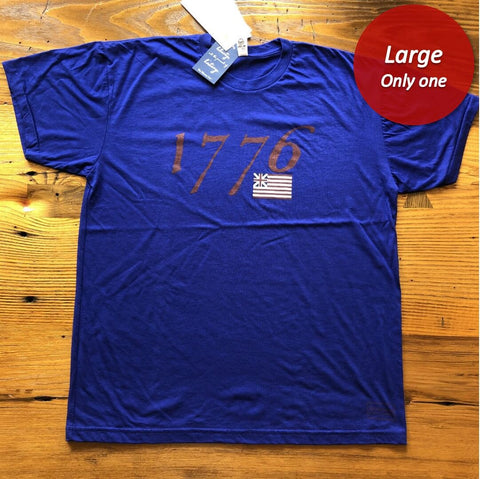 """We hold these truths - July 4, 1776"" T-shirt - Dark blue - Only one from The History List Store"