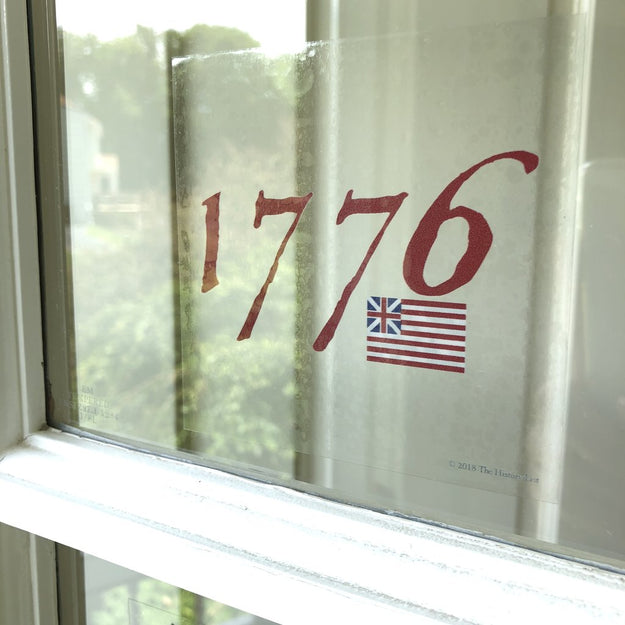"""1776"" Static Cling from The History List Store"