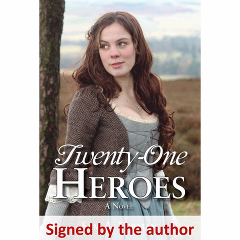 """Twenty-One Heroes"" (YA Historical Fiction) - Signed by the author, Sam Forman from The History List Store"