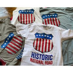 """Historic National Road"" Shirt and Tank top for women"