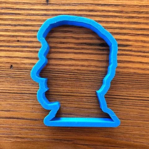Abraham Lincoln Cookie cutter from The History List Store