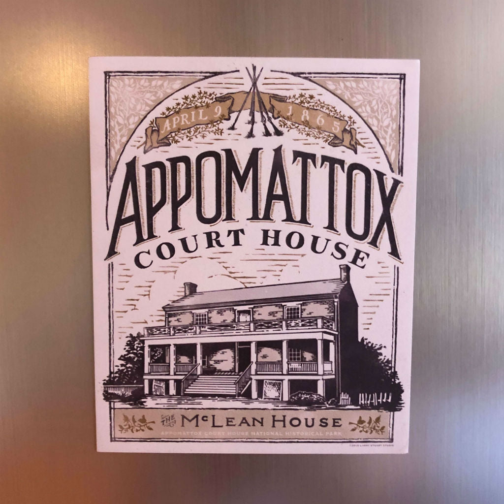 """Appomattox Court House"" Magnet from The History List Store"