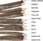 Wooden Color Pencils Set in 12 assorted colors